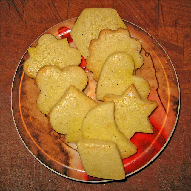 maizena, biscotti
