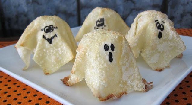 ricette per halloween 2012, fantasmi
