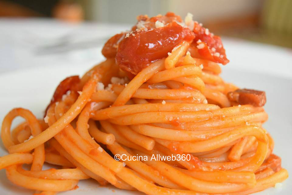 pasta all'amatriciana ricette