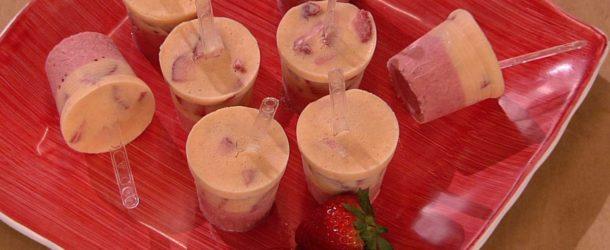 Stecchi gelato allo yogurt