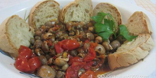 Zuppa di lumache al pomodoro