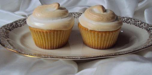 Cupcakes al limone e meringa all'italiana