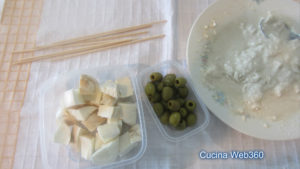 Spiedini fritti: ingredienti