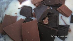 farcitura per la crostata pere e cioccolato