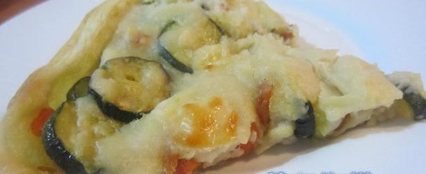 Quiche di zucchine, carote e besciamella