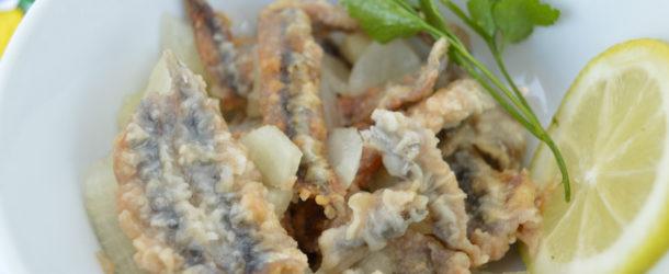 Alici fritte marinate