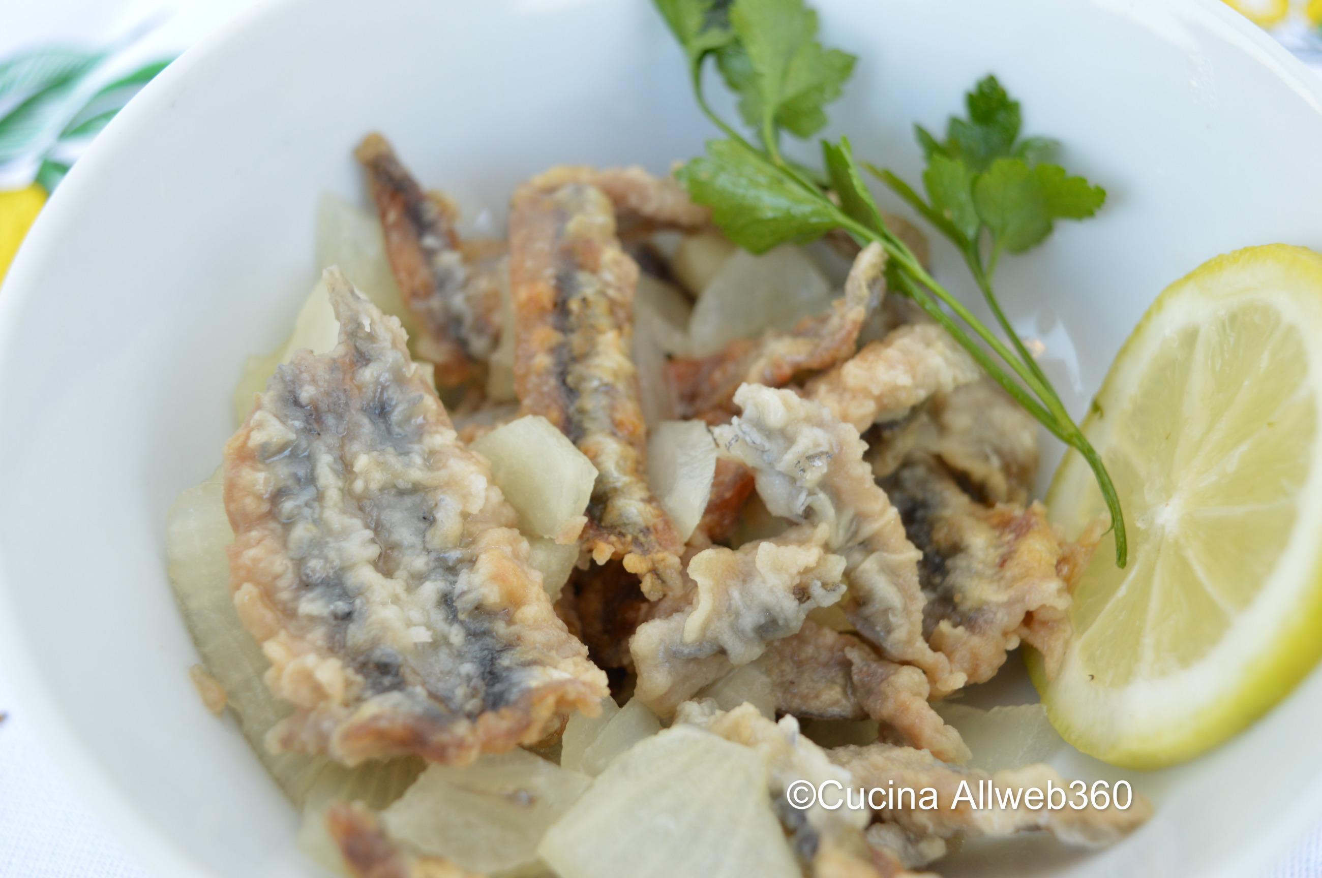 Alici fritte marinate con aceto