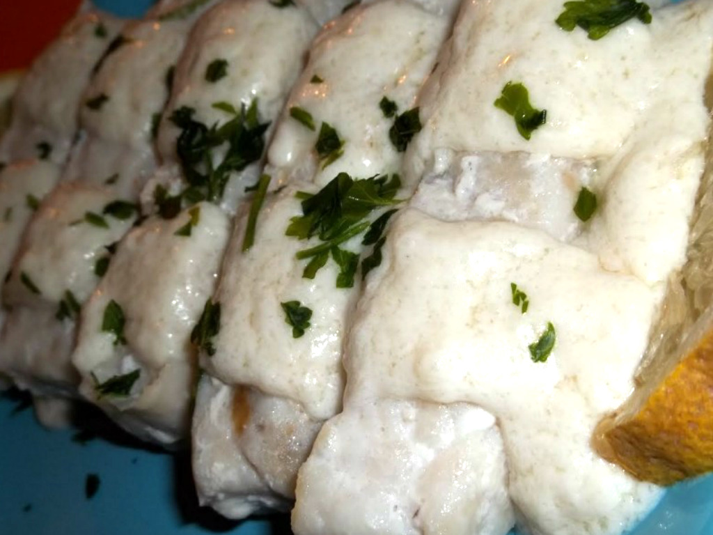 Filetto di merluzzo al forno con panna
