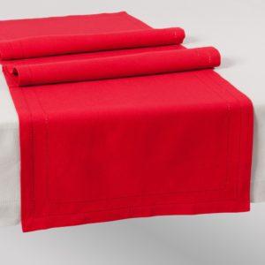 runner rosso la tavola natalizia