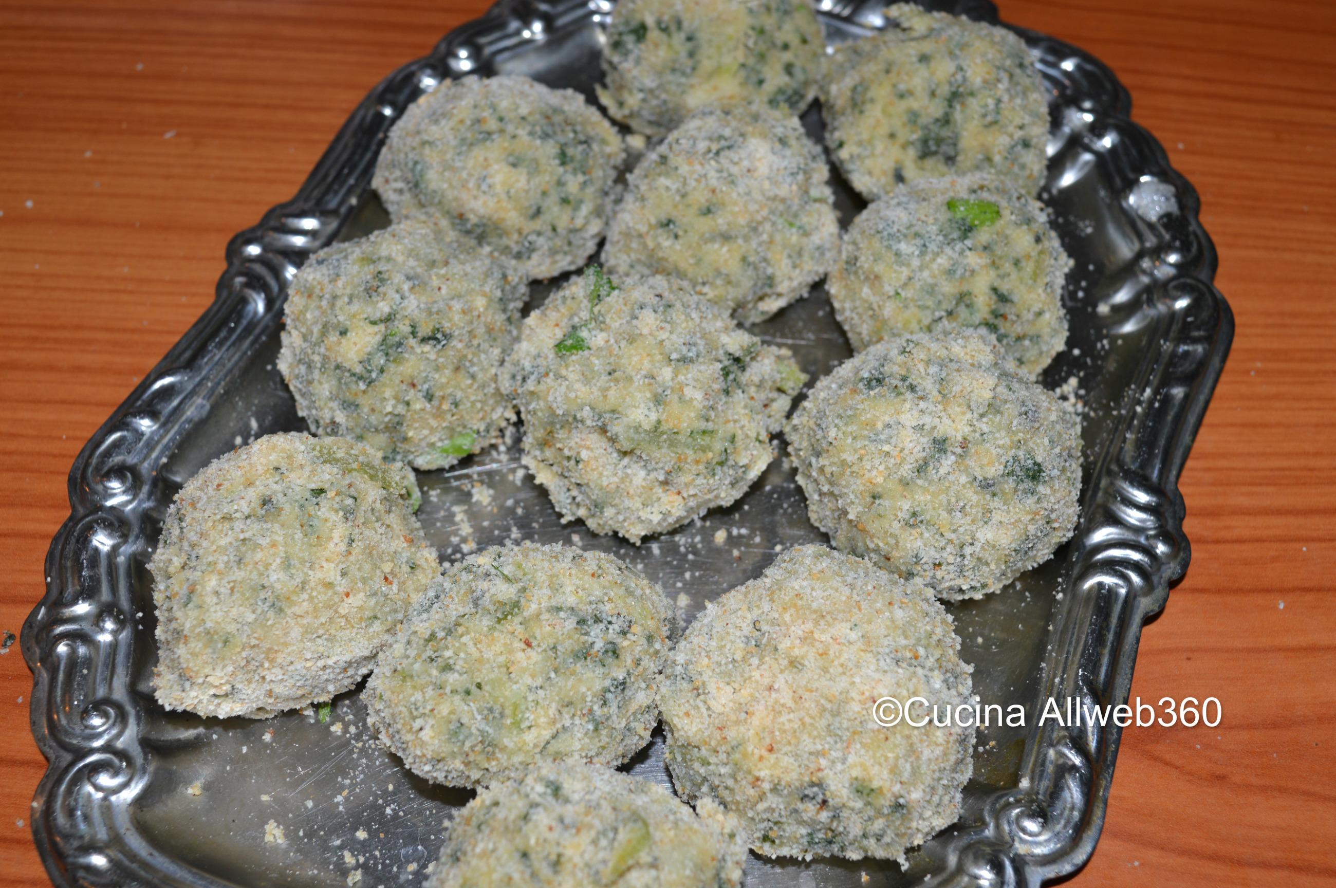 Ricette polpette di spinaci