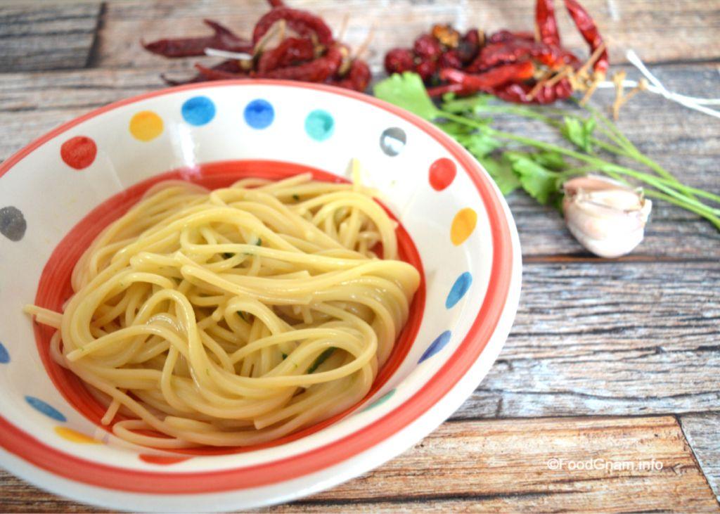 ricetta aglio olio peperoncino
