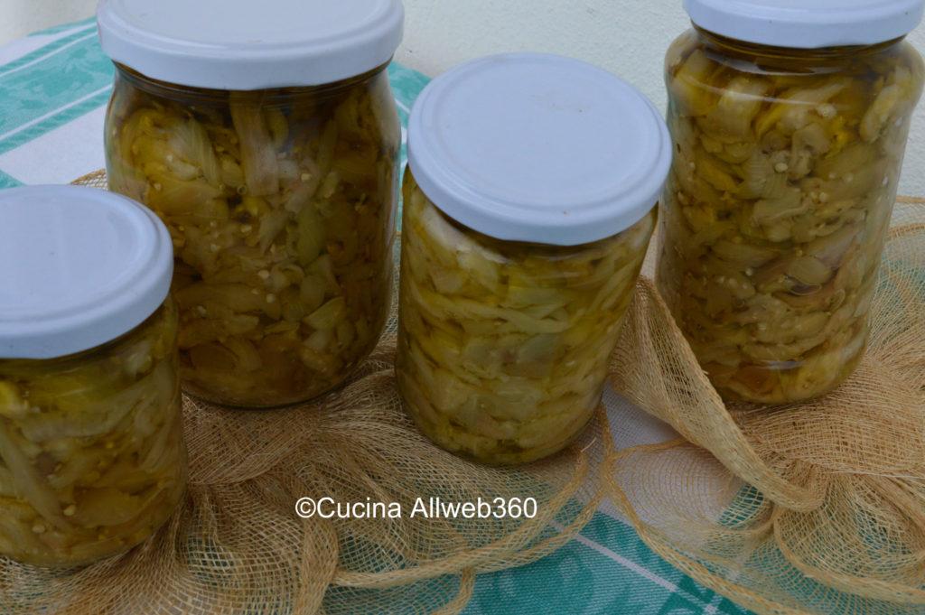 melanzane sott olio ricetta