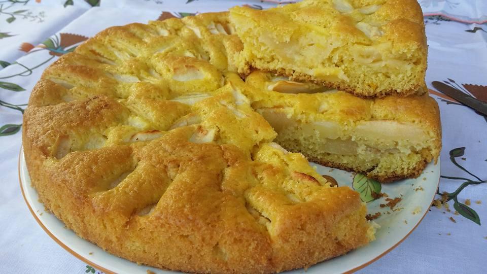 torta di mele senza latte ricetta