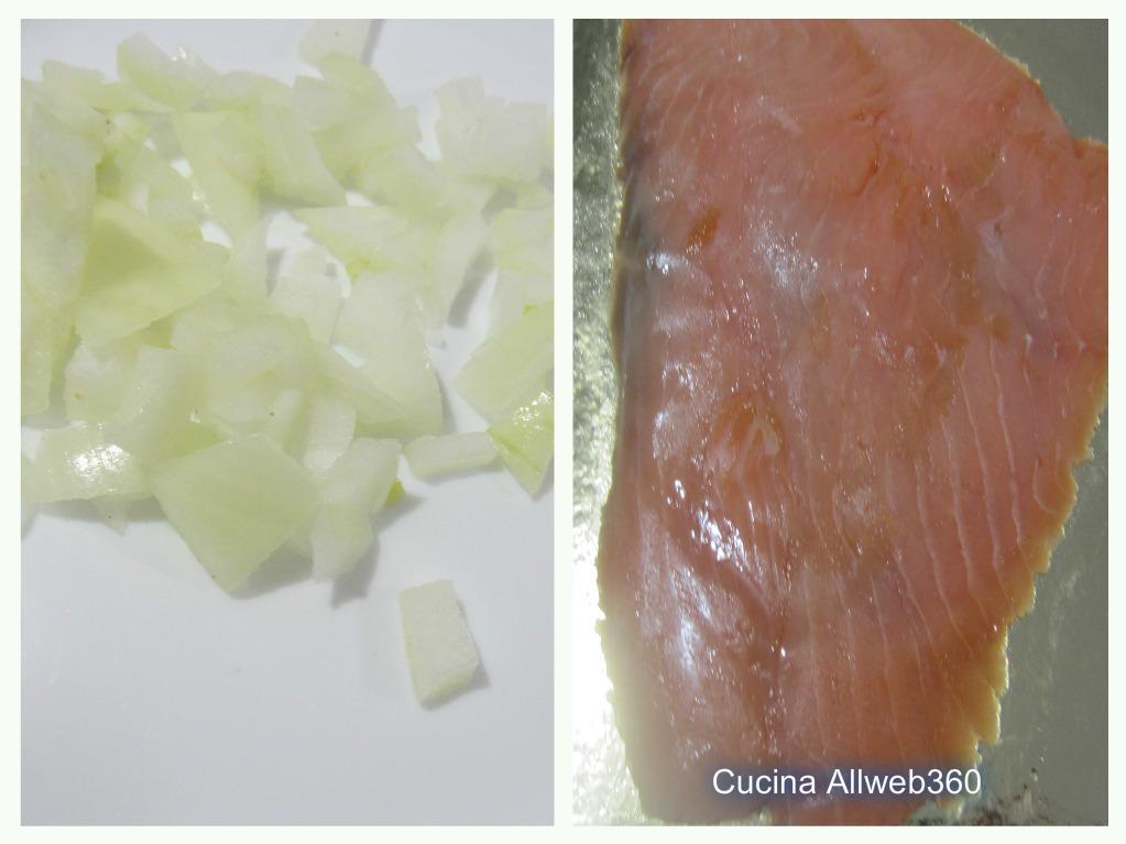 gnocchi con salmone