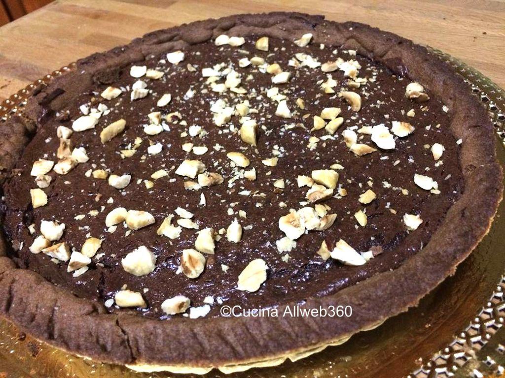 crostata alla cioccolata
