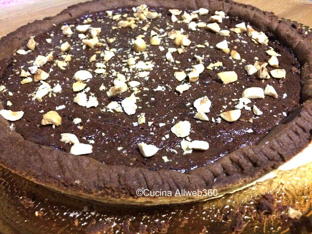 ricetta crostata cioccolato