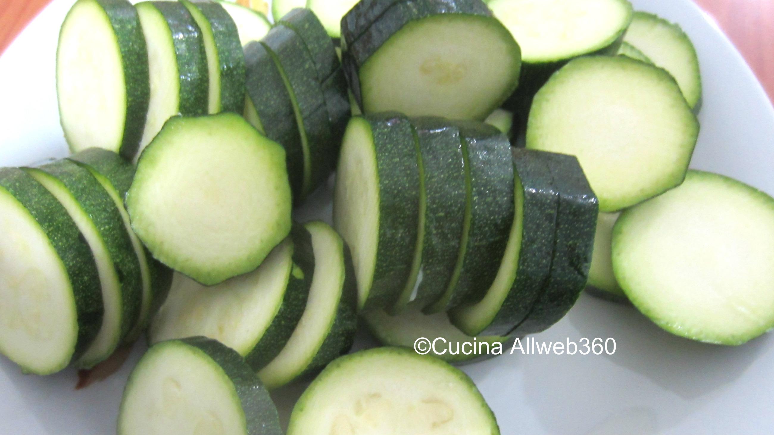 torrette di zucchine con stracchino