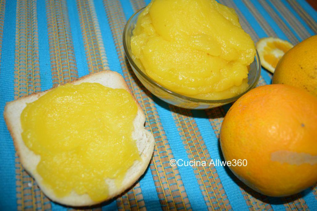 crema all'arancia senza uova