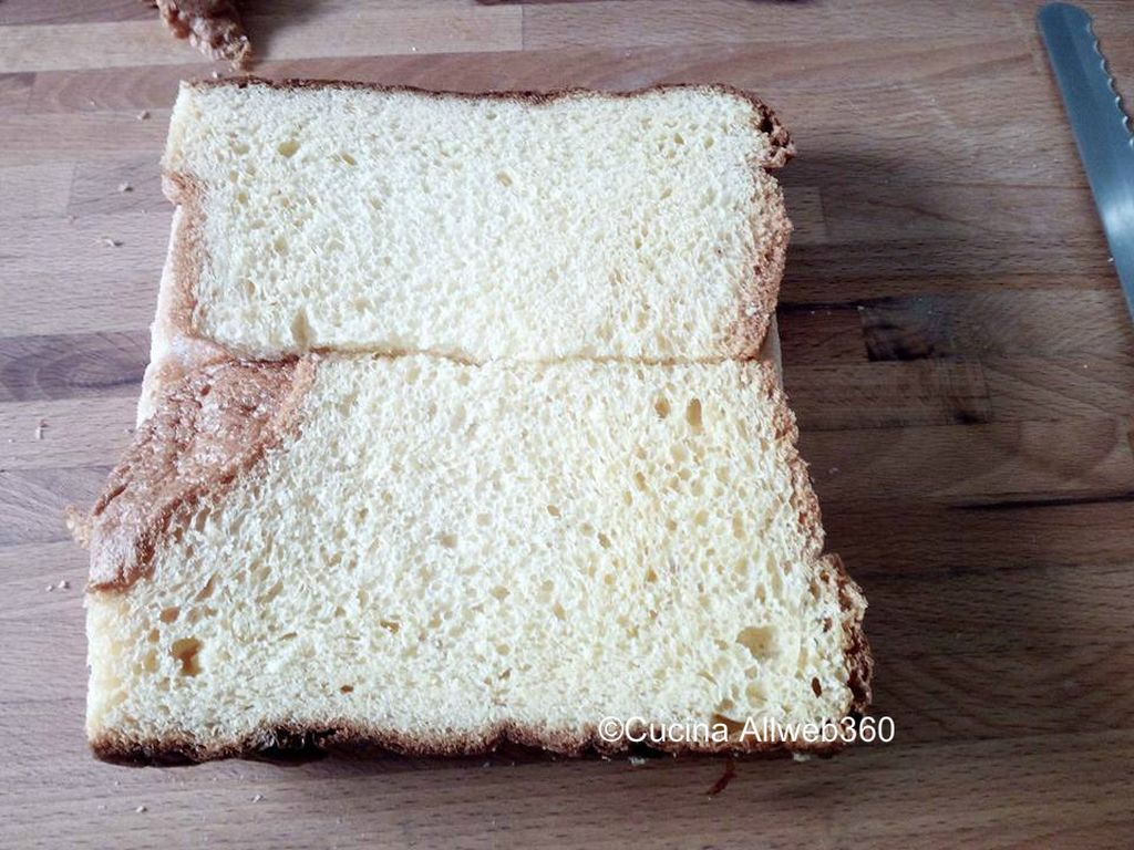torta con panettone avanzato