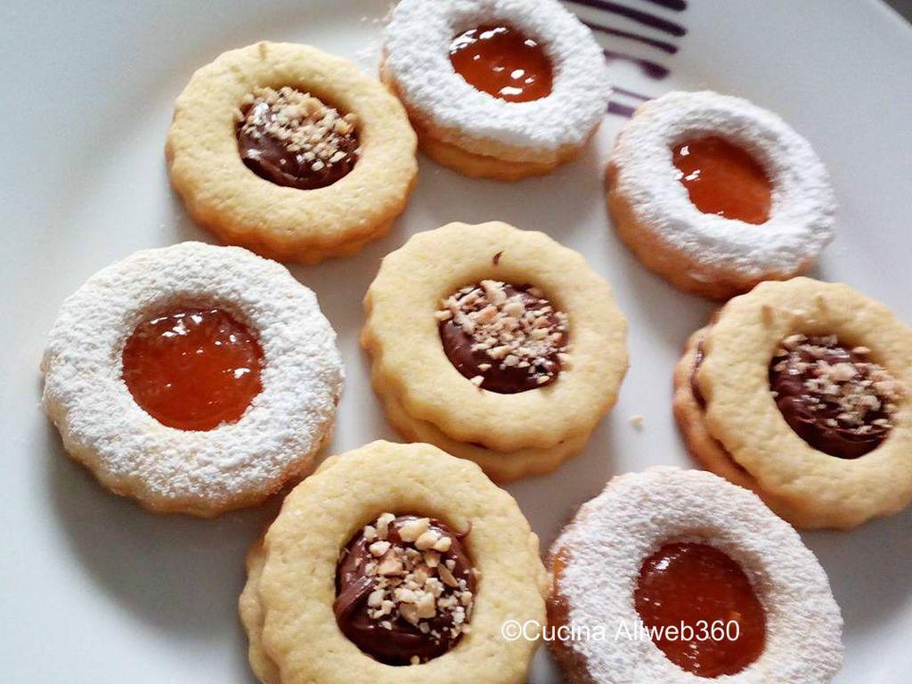 pasta frolla per biscotti occhio di bue