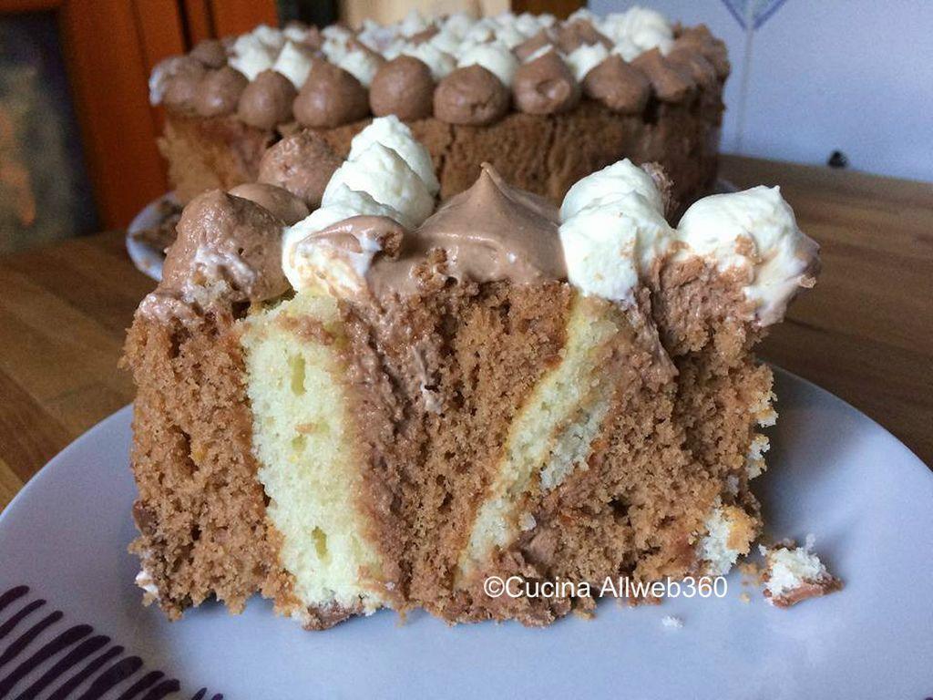 ricetta torta girella alla nutella