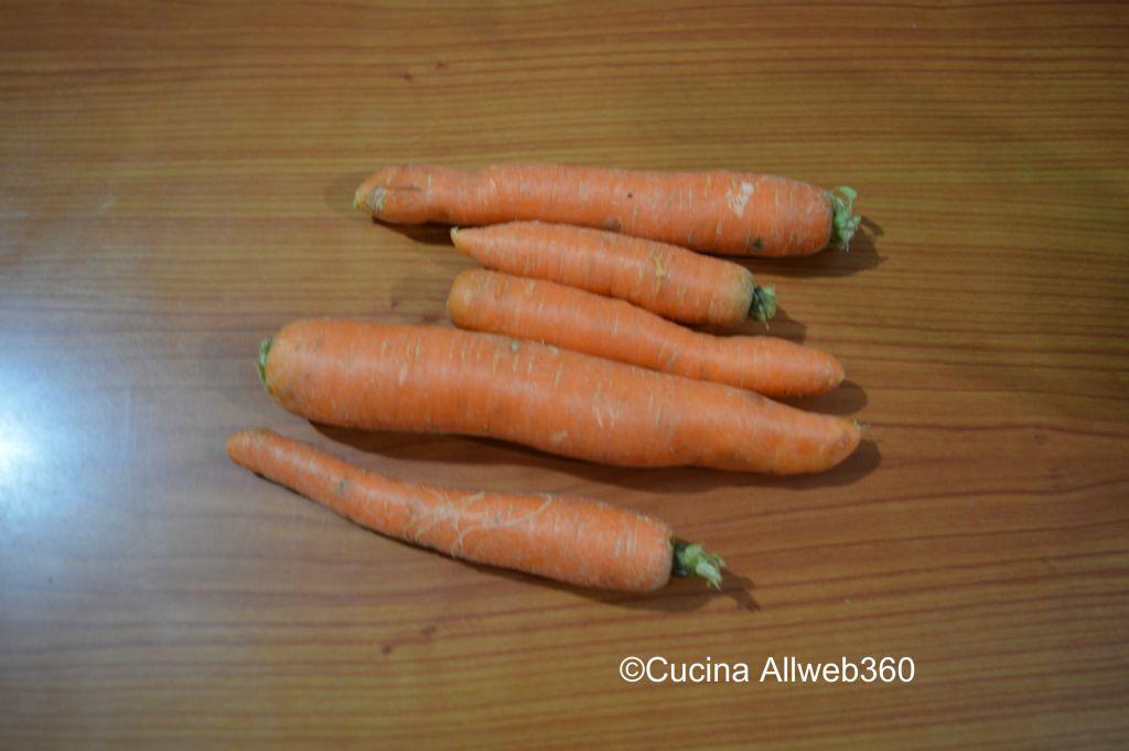 carote ricette
