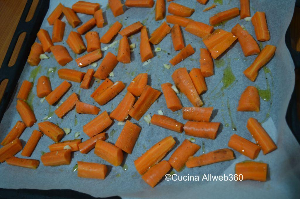 carote al forno gratinate