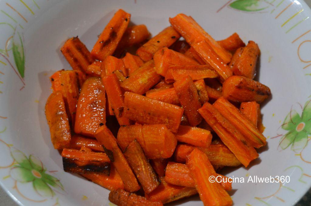carote al forno ricetta