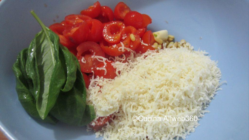 ricetta pesto rosso