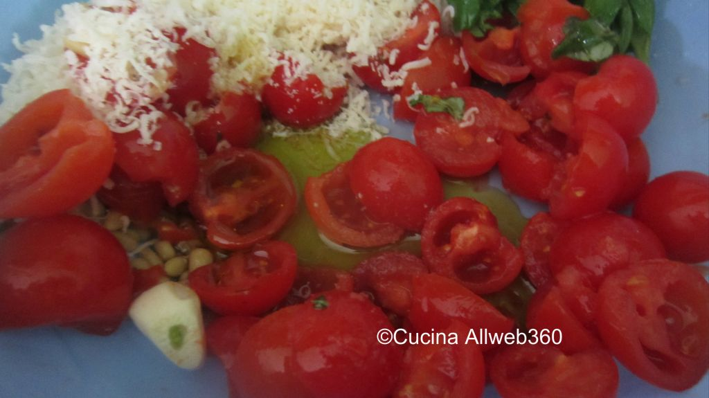 ricetta pesto siciliano