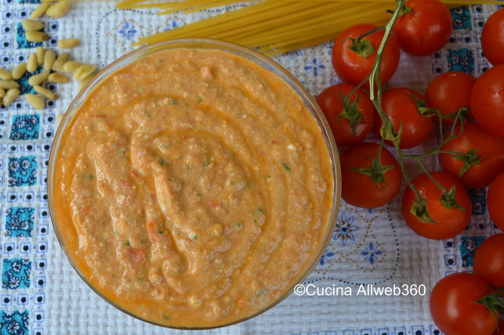 ricette pesto alla siciliana