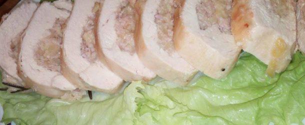Petto di pollo ripieno