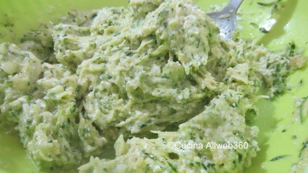 ricette con ricotta e zucchine