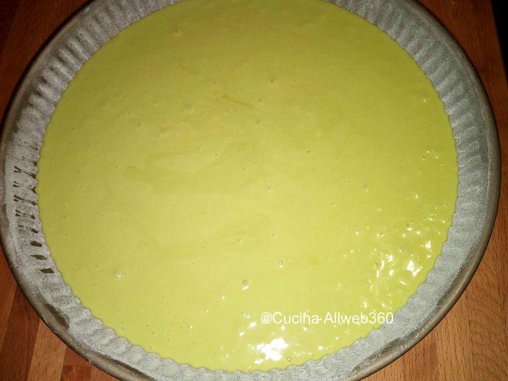 torta nutella e pistacchio