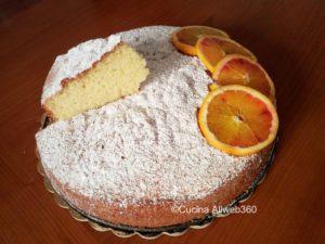 ricetta torta arancia