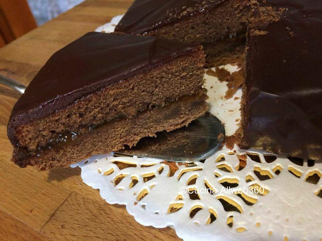 ricetta sacher torta