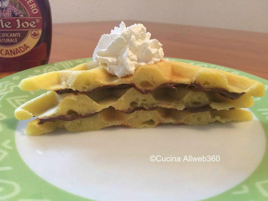 waffle ricetta