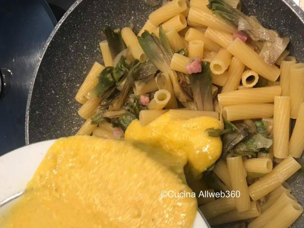 carbonara di carciofi e pancetta