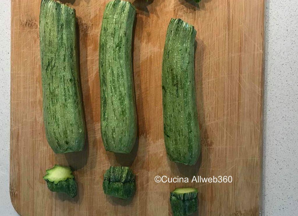 ricetta di zucchine