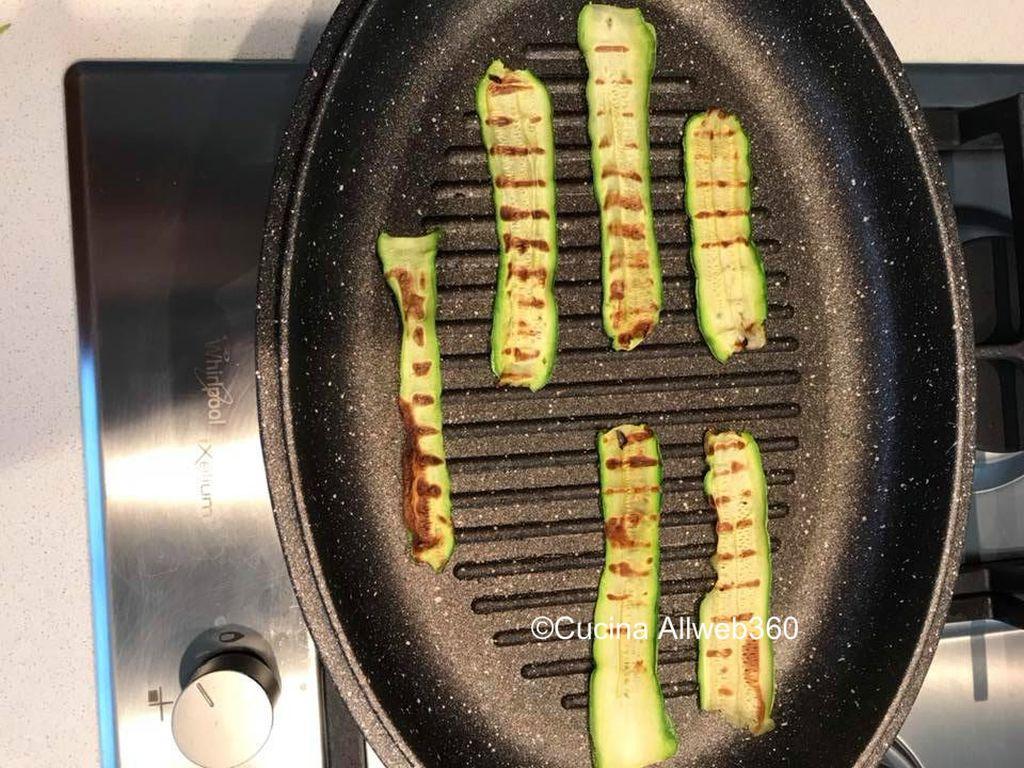 antipasto con zucchine
