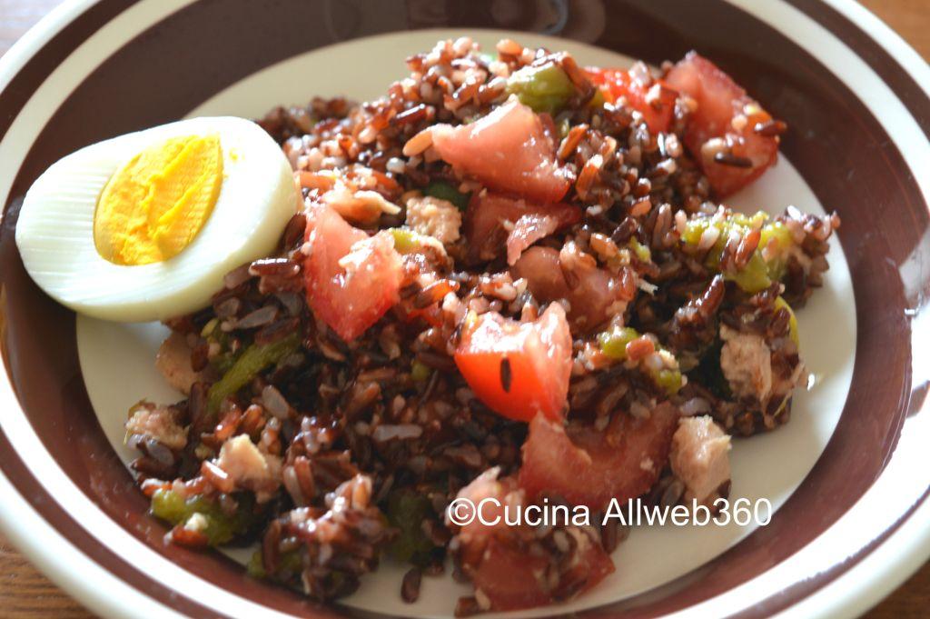 ricette con riso rosso