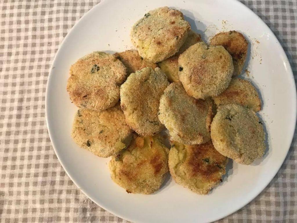 frittelle di patate salate