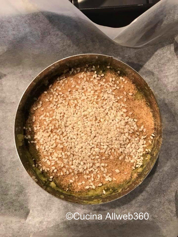 sformato di quinoa con verdure