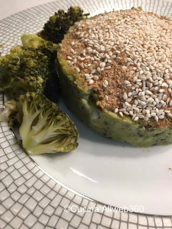 tortino di quinoa ricetta