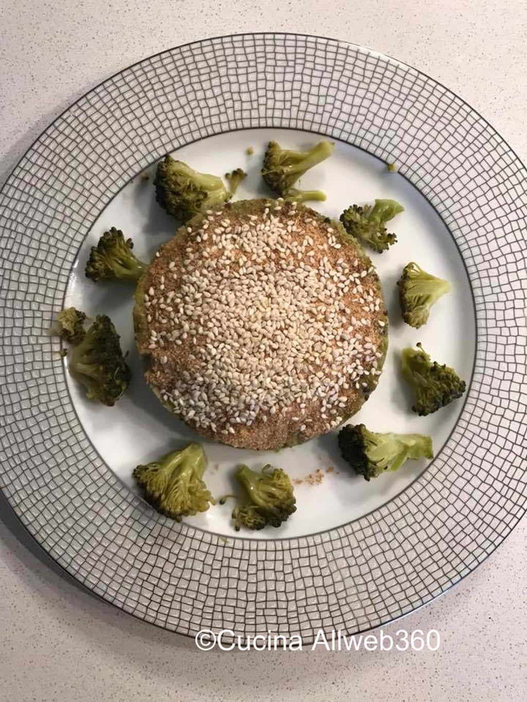 tortino salato di quinoa