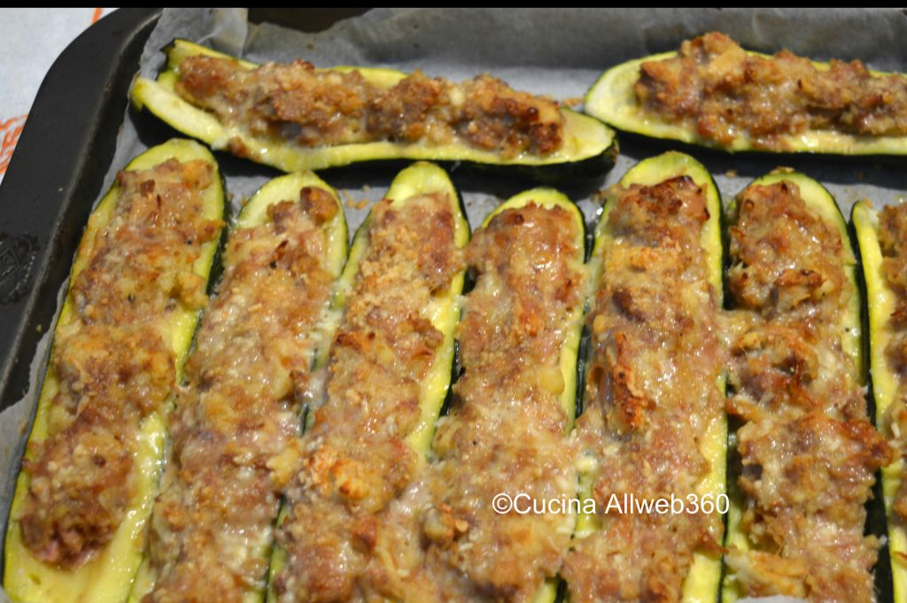 ricetta di zucchine ripiene