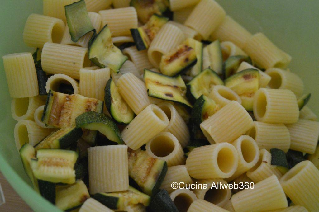 ricetta pasta zucchine