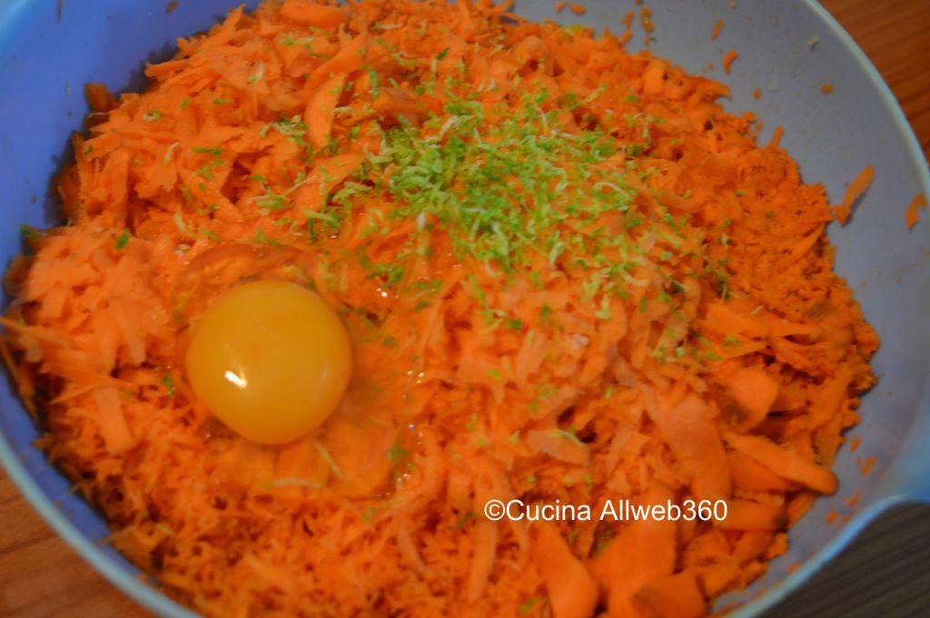 ricetta torta carote e mandorle