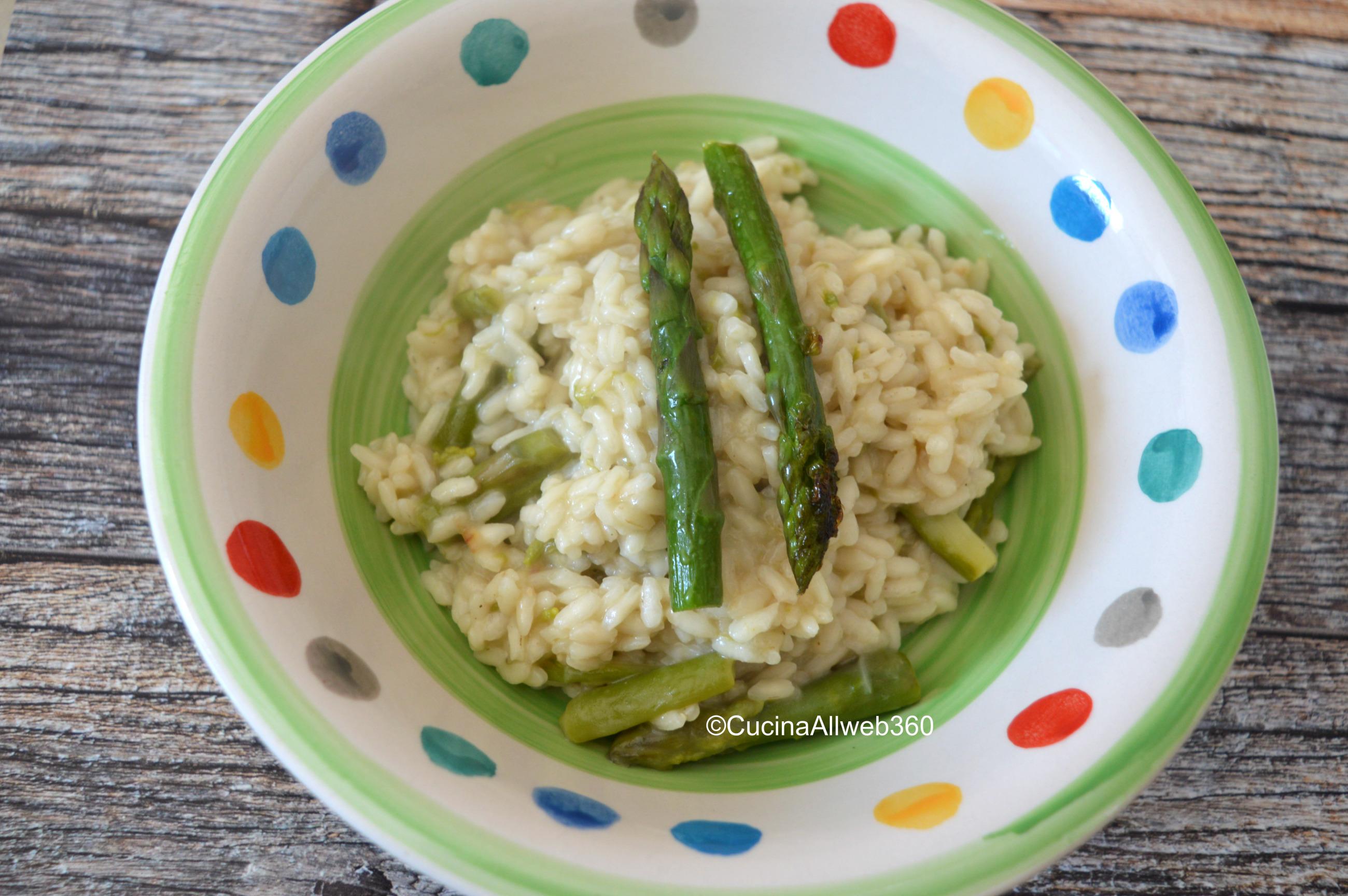 ricetta risotto con gli asparagi