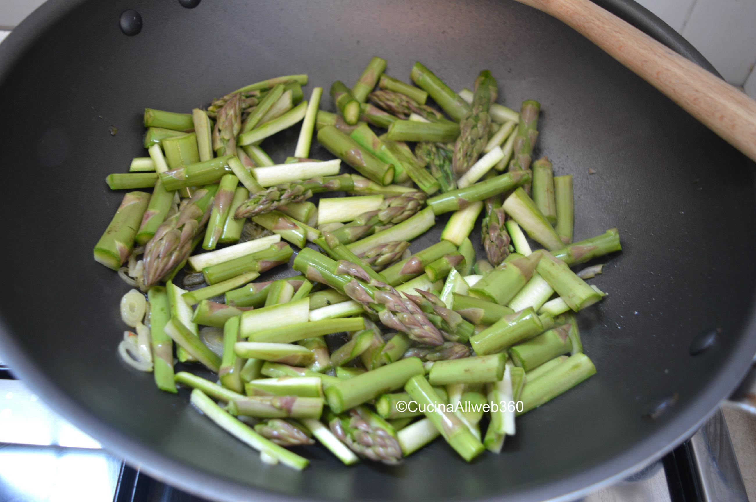 risotto con asparagi ricetta